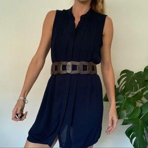 Versatile long tank dress or shirt. S